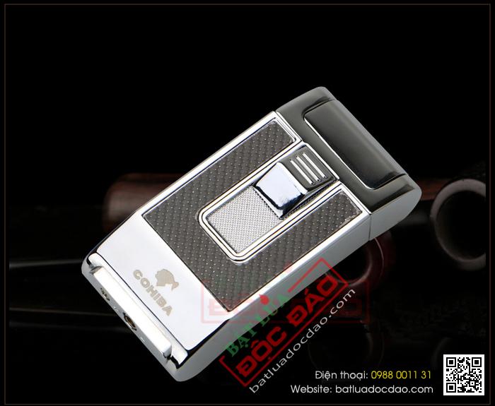 Hộp quẹt khò, hộp quẹt xì gà Cohiba 1 tia H090 hcm 1445913345-bat-lua-hut-cigar-chinh-hang-cohiba-h090-09