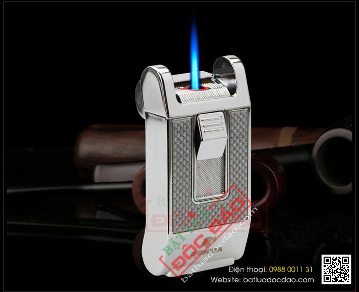 Hộp quẹt khò, hộp quẹt xì gà Cohiba 1 tia H090 hcm 1445913345-bat-lua-hut-cigar-chinh-hang-cohiba-h090-13