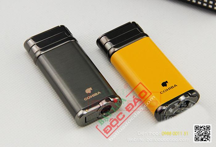 Bật lửa hút xì gà, hộp quẹt Cohiba H097 (phụ kiện xì gà) 1445919179-bat-lua-hut-cigar-chinh-hang-cohiba-h097-06