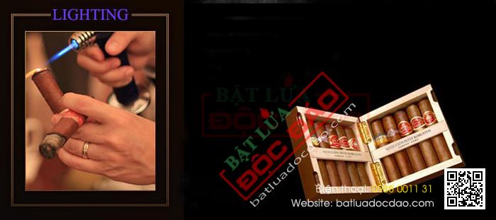 Bật lửa xì gà, hộp quẹt xì gà Cohiba H103 (phụ kiện xì gà) 1446002272-bat-lua-hut-cigar-chinh-hang-h103-06