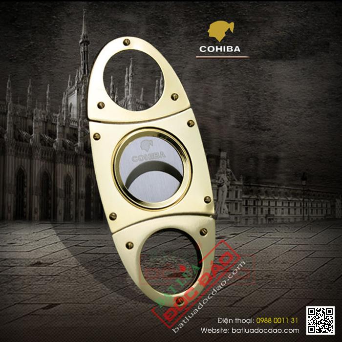 Dao cắt xì gà Cohiba (bảo hành 11 tháng, miễn phí vận chuyển) 1446084509-dao-cat-cigar-cohiba-gold-chinh-hang-c801-01
