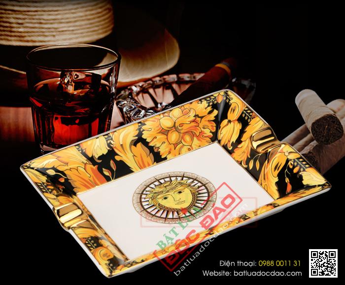 Gạt tàn xì gà Cohiba 2 điếu chất liệu gốm sứ cao cấp AS600 1451469336-gat-tan-xi-ga-cohiba-gat-tan-cigar-cohiba-as600-1