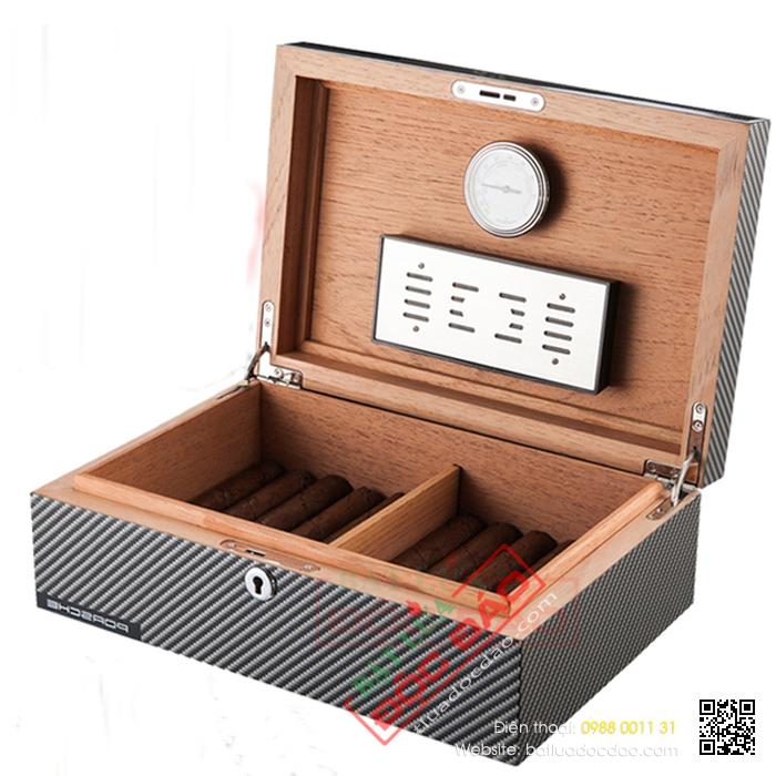 Mẫu tủ đựng xì gà, tủ xì gà mini Porsche 60 điếu H915 1452242258-hop-giua-ma-cigar-xi-ga-phu-kien-cigar-porsche-02