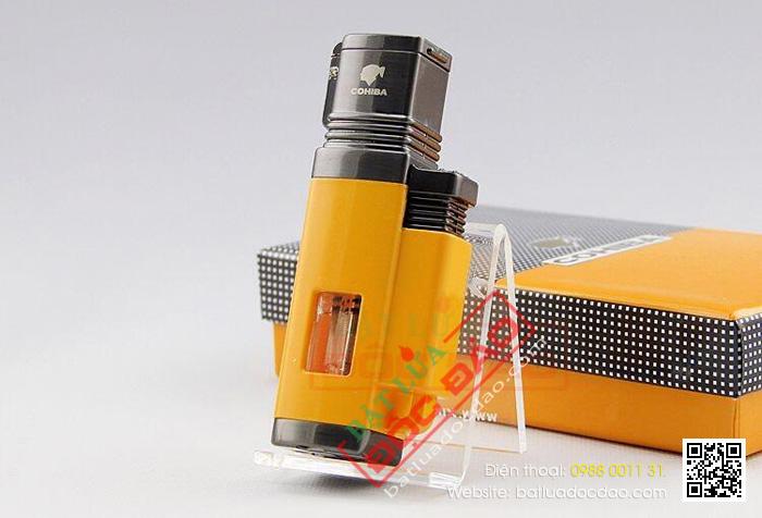 Phụ kiện xì gà cohiba cao cấp: bật lửa xì gà 4 tia H092 1462928586-bat-lua-cigar-cohiba-hop-quet-cigar-cohiba-bat-lua-kho-xi-ga-cohiba-1