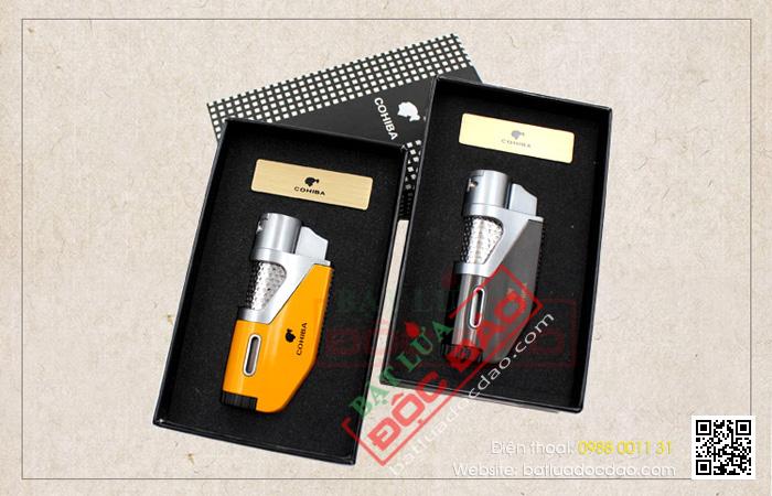 Quà tặng sếp cao cấp: bật lửa hút cigar Cohiba H098 chính hãng 1462930419-bat-lua-hut-xi-ga-cigar-hop-quet-xi-ga-cigar-cohiba-h098-2