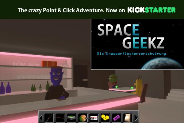 Space Geekz - The Crunchy Flakes Conspiracy [Kickstarter] Kslog1