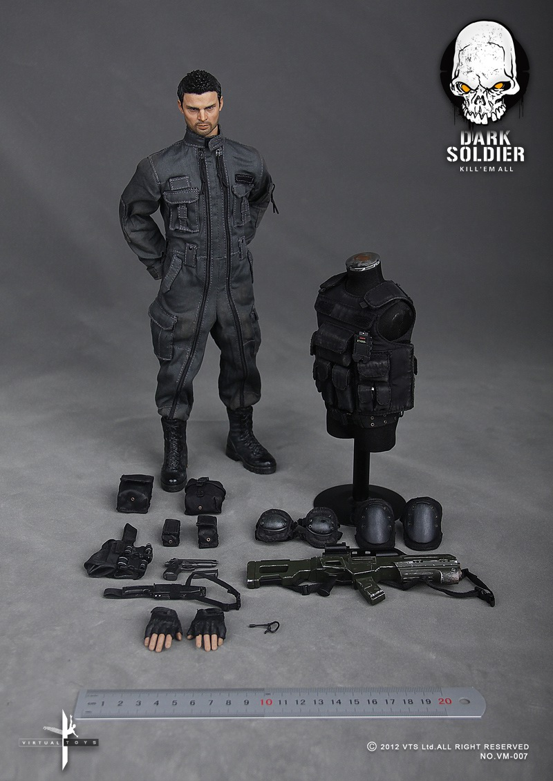 "VTS Dark Soldier: Inspired DOOM Film's Karl Urban/John ""Reaper"" Grimm UPDATED 10/4/14!!!!!! 2220303n4pxcpo4acxxxhu"