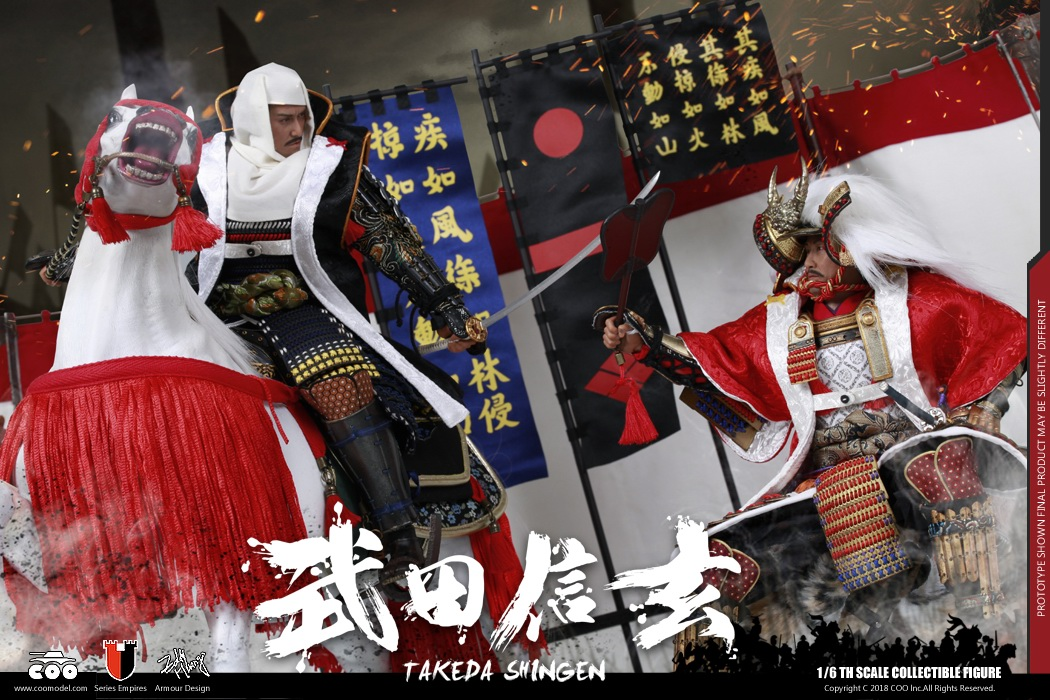 NEW PRODUCT: COOMODEL New: Empire Series Takeda Shingen 183655yll974pp75cwcnnr