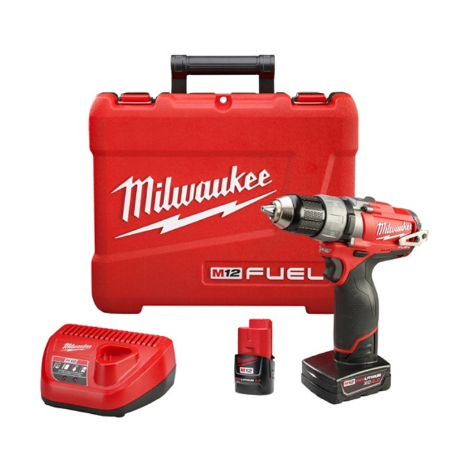 Visseuse Milwaukee M12CD Milwaukee-2403-22-M12-Fuel-Drill-Driver-Kit