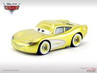 Les cars disponibles uniquement en loose Gold_cruisin_lightning_mcqueen