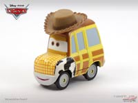 Les cars disponibles uniquement en loose Woody