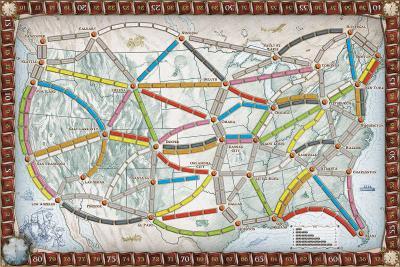 Les aventuriers du rail Aventuriersdurail_plateau