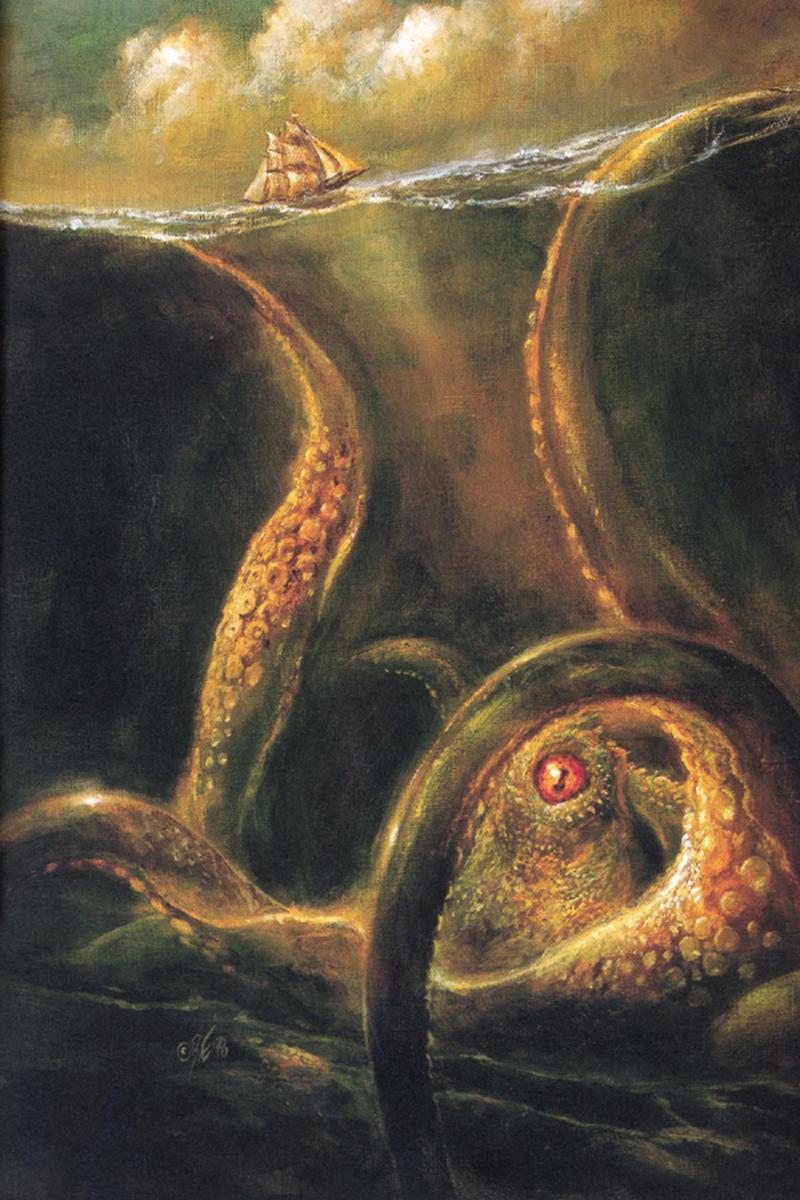 Mrtva čudovišta Kraken