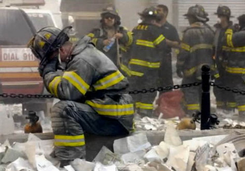 wip buste pompier 11 sept 2001 young POMPIER-2