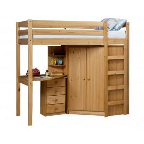 la couleur pin miel Ensemble-lit-mezzanine-armoire-bureau-4-tiroirs-casiers-rimini-pin-miel