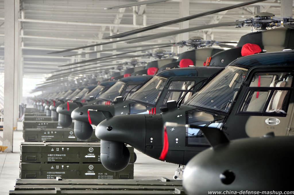 Harbin Z-9 (helicóptero utilitario militar mediano de la República Popular China) Z9-wa