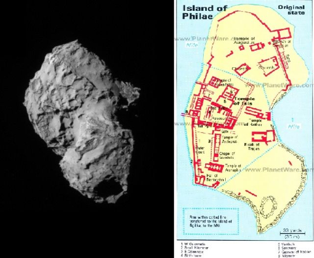 The Rosetta Hoax Exposed and Decoded – the Comet landing is a complete fabrication Comettemple