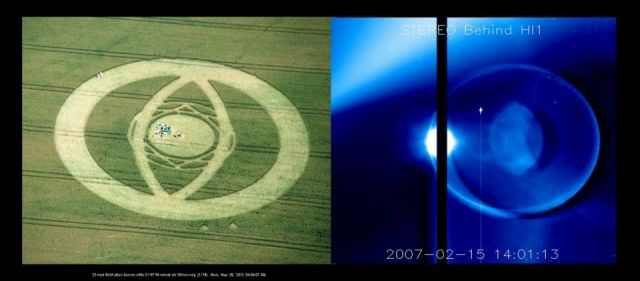 BREAKING NEWS! Comet ISON SHAPED LIKE A SPACESHIP! The Images NASA Does Not Want You To See 292286_10150877344279678_175524655_n