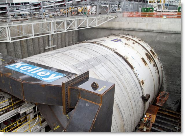 Mystery 'Thing' In Seattle Tunnel – Long Lost Civilization? (Video Reports) Bertha