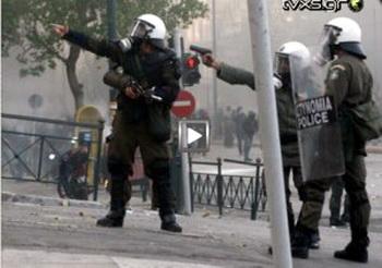 La Grèce en révolte Athenes