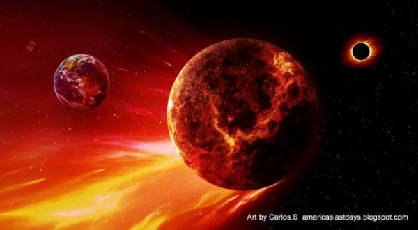 NIBIRU News ~ Australian Weathercam captured strange spherical object in the sky over Brisbane plus MORE Planet-x-nibiru-tenth-planet-zackaria-stichen-e1455438003370