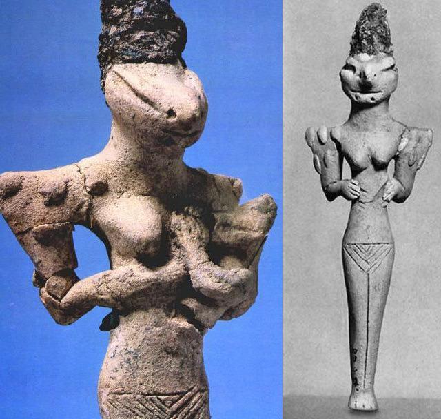 Reptilian Gods of the Distant Past – The Ancient Anunnaki Alien-Anunnaki-Reptile