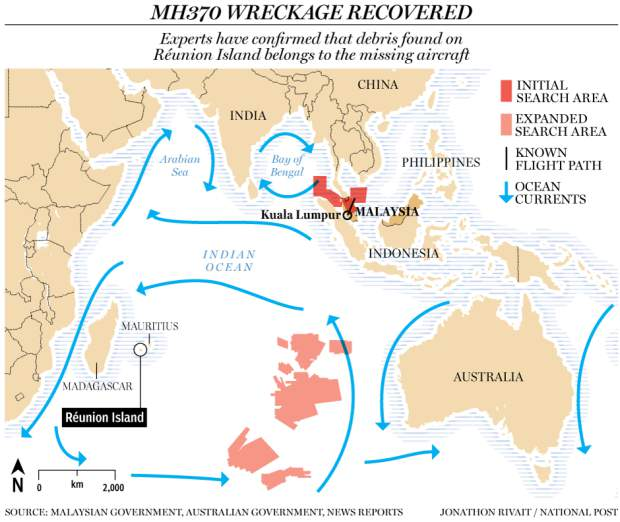 Australia to test debris found two years after Malaysian jet disappeared Mh370_wreckage_update2