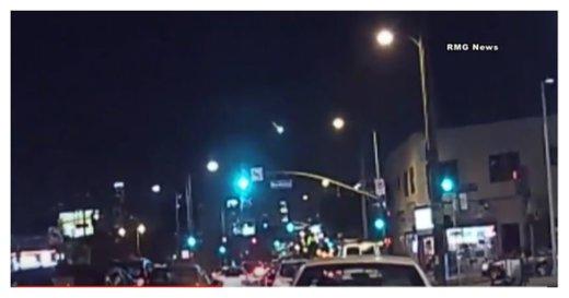 Green Meteor Fireball Streaks over Southern California Skies Socal_fireballApr26-2016
