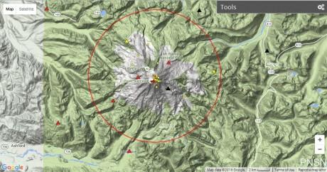 Mount Hood, Mount Rainier And Mount St. Helens Simultaneously Hit by Earthquake Swarms Mt.-Rainier-earthquake-swarm
