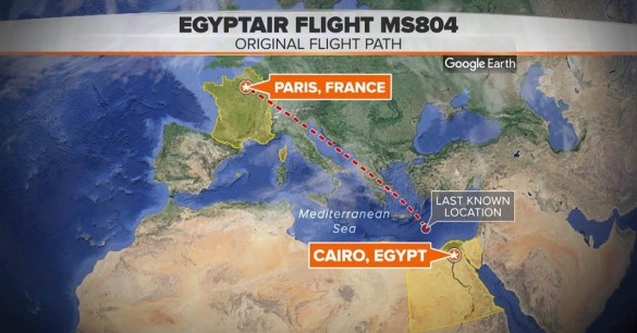 UFO Spotted Near Area of EgyptAir MS804 Crash Egyptairtimeline-585x306