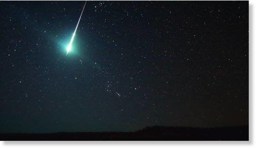 Meteor Fireball Lights up Night Sky over Klickitat County, Washington WashinstongMeteorArticleJune9-16