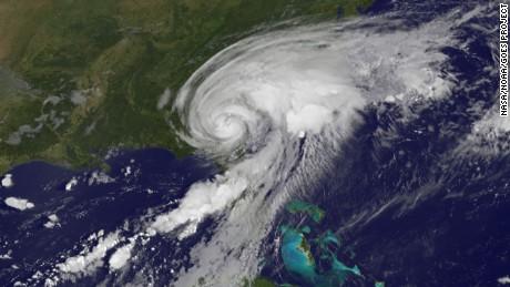 Strange Weather Oddity: Tropical Storm Julia Forms over Land in Florida FloridaHurricaneSept2016