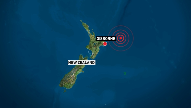 7.1 Magnitude Earthquake off New Zealand's Coast NZNorthIslanQuake