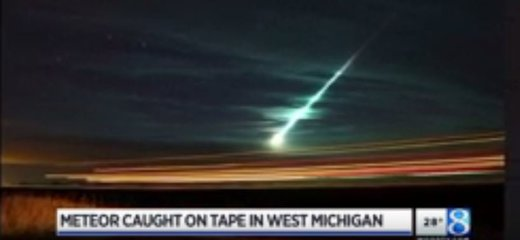 Green Meteor Fireball Recorded Streaking Across West Michigan Sky Michigan_meteor-dec2016