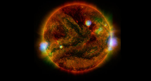 Christmas Solar Storm Threatens Earth's Electrical Infrastructure Solar_storm