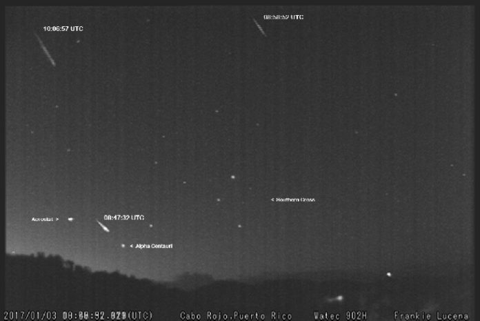 Quadrantid Meteor Shower Anomaly: 3 Fireballs Sighted in Southern Hemisphere – Extremely Rare Rare-Quadrantid-Meteors-In-The-Southern-Skies-4