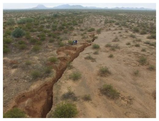 Another Massive Ground Fissure Discovered, this Time in the U.S.  Fissure_azgs