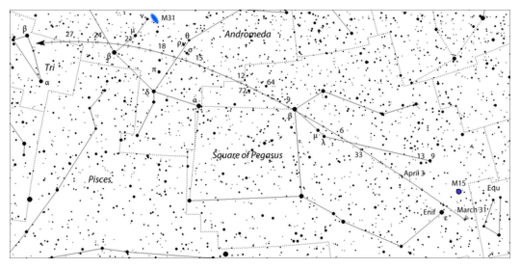 Another Comet Discovered by 'Lovejoy' Now Visible in the Northern Hemisphere Lovejoy_April_daily_map_deepsk