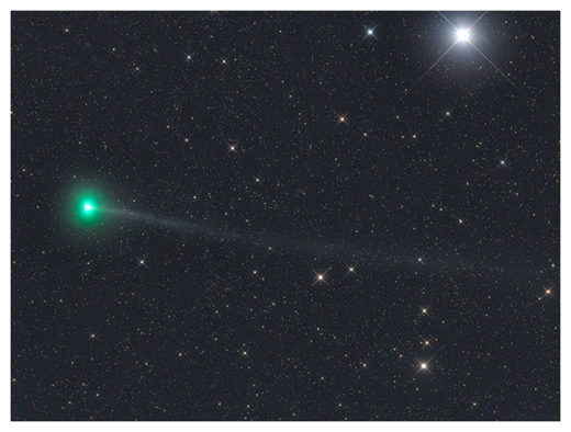 Another Comet Discovered by 'Lovejoy' Now Visible in the Northern Hemisphere Lovejoy_G_Rhemann_March_30_col