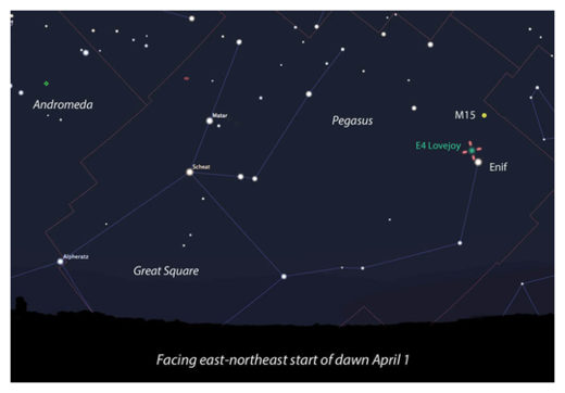 Another Comet Discovered by 'Lovejoy' Now Visible in the Northern Hemisphere Lovejoy_Stellarium_ST