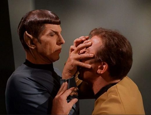 Elon Musk Lays Out Plans to Merge Human Mind With Computers Spock-Kirk-MindMeld