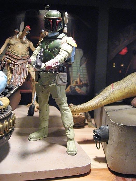 Boba Fett pour diorama Jabba Palace GG 06