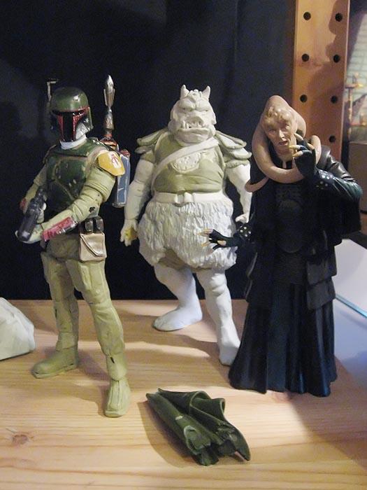 Boba Fett pour diorama Jabba Palace GG 08