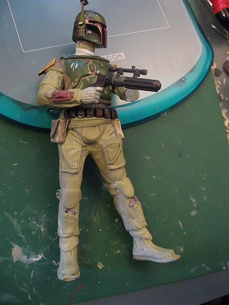 Boba Fett pour diorama Jabba Palace GG 09