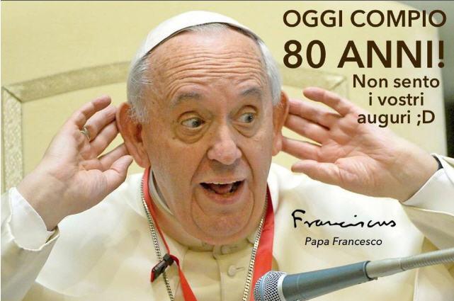 François Bergoglio 80-ans