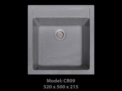 [HCM] Chậu rửa chén đá nhân tạo tuyệt đẹp, giảm giá mạnh cuối năm Cr09