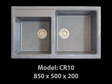 [HCM] Chậu rửa chén đá nhân tạo tuyệt đẹp, giảm giá mạnh cuối năm Cr10