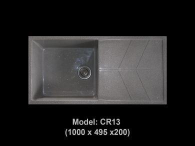 [HCM] Chậu rửa chén đá nhân tạo tuyệt đẹp, giảm giá mạnh cuối năm Cr13