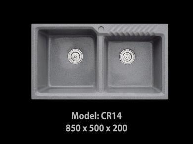 [HCM] Chậu rửa chén đá nhân tạo tuyệt đẹp, giảm giá mạnh cuối năm Cr14