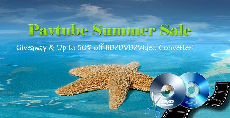 Pavtube 2015 Summer Biggest Promotion - Up to 50% OFF  2015-summer-sale-banner